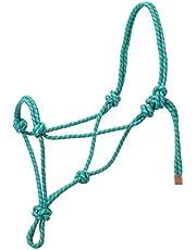 Weaver Leather Diamond Braid Rope Halter, Average Horse