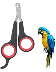 Pet Nail Scissors Dog Cat Nail Clippers Bird Parrot Claw Trimmer Professional Small Animals Nail Grooming Tool