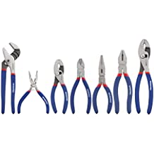 """WORKPRO 7-piece Pliers Set (8"""" Groove Joint Pliers, 6"""" Long Nose, 6"""" Slip Joint, 7"""" Linesman, 8"""" Slip Joint)"""