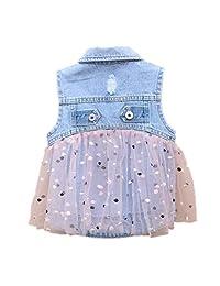 Peacolate Summer Girl Denim Thin Vest