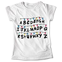 Blusa Stranger Things Colores Playera Estampado Focos 020