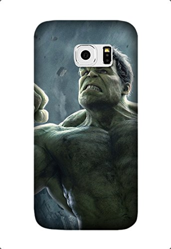 Samsung Galaxy S6 Edge Case, Premium TPU Cover [Durable] Soft Rubber Silicone Back Cover Smooth Design Avengers: Age Of Ultron Movie Case For Samsung Galaxy S6 Edge Design By [Lee Stjohn]