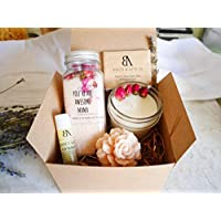 "SHIP NEXT DAY Mom gifts, Spa Gift for Mom, New Mom Gift Basket, Relaxing Spa Gift For Her -""You're an Awesome Mama"" Relaxation basket for her (Arrive within 1-3 business days once shipped!)"