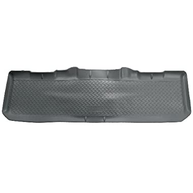 Husky Liners Custom Fit Second Seat Floor Liner for Select Ford Models (Grey)