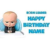 Baby boss Birthday Birthday Party Banner Personalized/Custom Decoration
