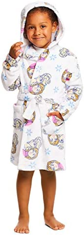 Girls Disney Frozen Sleep Robe - Girls Fleece Hooded Bathrobe