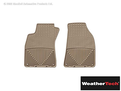 Brightt (WEA-BHH-823) All Weather Floor Mats Tan Front - Compatible With A4 Quattro - 1996 1997 1998 1999 2000 2001 2002 2003 2004 2005 2006 2007 2008 | 96 97 98 99 00 01 02 03 04 05 06 07 08
