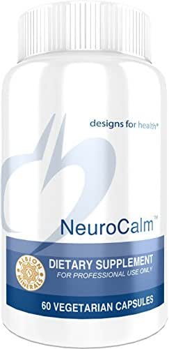 Designs for Health NeuroCalm - GABA + Serotonin Support Formula with 5-HTP, Inositol + Taurine (60 Capsules)