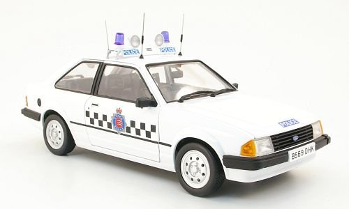 Ford Escort MKIII 1.1L, Section Car Essex Essex Essex Police, 1987, Modellauto, Fertigmodell, Model-Icons 1:18 04dbf9