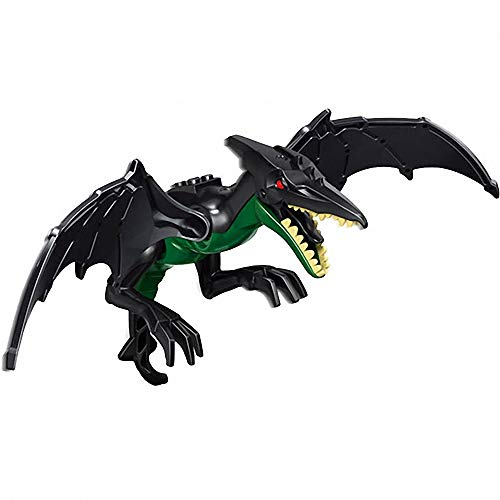 JVNVDS Dinosaur, 8 Pterosaur Dimorphodon Action Figure Building Block Dino Toy, Safe to Play, Kids Gift