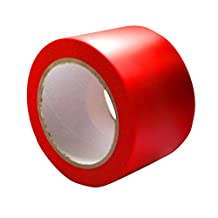 ifloortape Red Engineer Grade Reflective Tape, 1-Inch x 150 Foot Roll