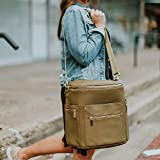 Leather Diaper Bag Backpack by Miss Fong, Baby