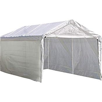 Amazon Shelterlogic Super Max 12 Ft X 20 Ft White Canopy