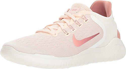(Nike Women's Free RN 2018 Running Shoe (9.5 B(M) US, Guava Ice/Rust Pink-sail-Pink Tint))