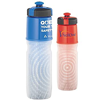 b2303e03e9 Amazon.com : Promotional Cool Gear 18 oz Insulated BPA Free Squeeze Bottle  (48 Qty : Baby