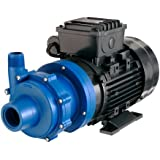 Finish Thompson DB5.5P-M616 Centrifugal Magnetic Drive Pump, Polypropylene, 1/2 HP, 115V, 1 Phase, 31.0 Max Feet of Head, 30.0 gpm