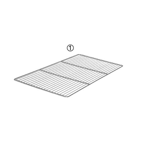 De Buyer Industries 3330.53 Patisserie Wire Grille 201 53 x 32/5-2 with Reinforcement Bars Stainless Steel