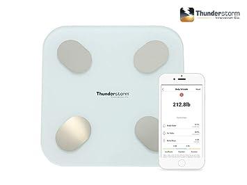Amazon.com: Thunderstorm - Báscula digital de peso para el ...