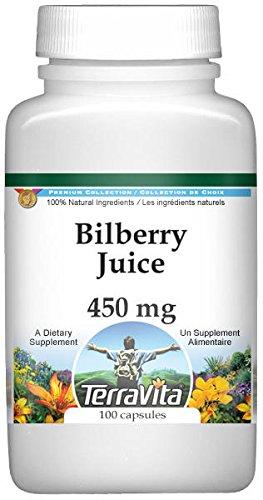 Bilberry Juice - 450 mg (100 Capsules, ZIN: 519182) - 3 Pack
