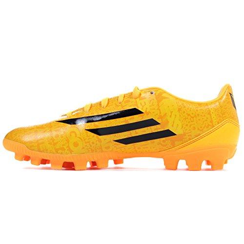 adidas Bota F10 TRX AG Messi Solar gold-Negra Orange/Black