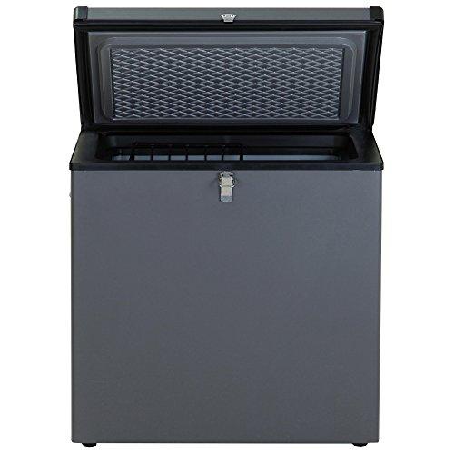 Smad Compact Absorption Chest Freezer 110V/12V/Gas 3 Way Deep Freezer Single Door, 2.2 cu.ft.