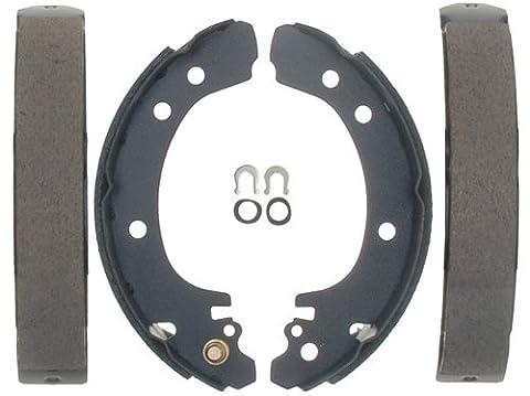 ACDelco 17637B Professional Bonded Rear Drum Brake Shoe Set (1999 Saturn Sl2 Rear Brake Shoes)