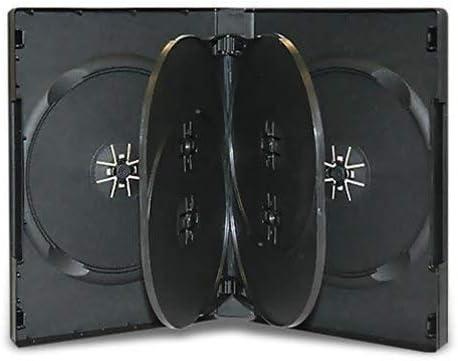 5 x Negro 14 mm 6 Disc caja para DVD – 5 unidades de Dragon Trading®: Amazon.es: Electrónica