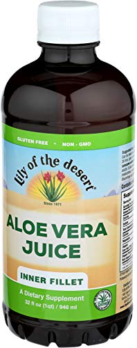Lily of the Desert Inner Fillet Aloe Vera Juice, 32 Ounce