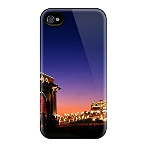 For Mialisabblake Iphone Protective Case, High Quality For Iphone 4/4s Bela Cidade Skin Case Cover