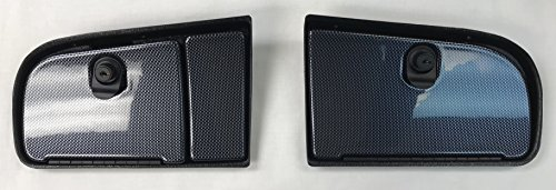 E-Z-Go TXT Golf Cart EZ Install Locking Glove Box Door Set In Carbon Fiber (WILL FIT NEW AND CURRENT GENERATION 1994 AND UP) (WILL NOT FIT RXV MODELS) - Glove Box Door