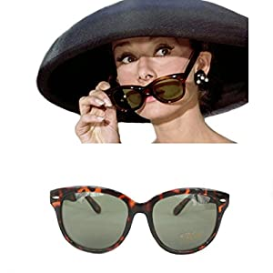 Sunglasses, Audrey Hepburn, Breakfast at Tiffany's, Tortoiseshell