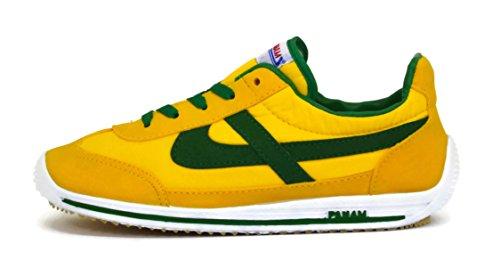 PANAM Classic Tennis Shoe Banana TGJmBjW