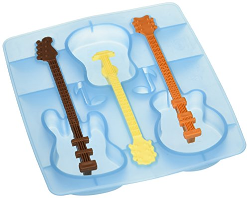 Fred COOL JAZZ Guitar Ice Tray and Stirrers (Cool Jazz Ice Tray)
