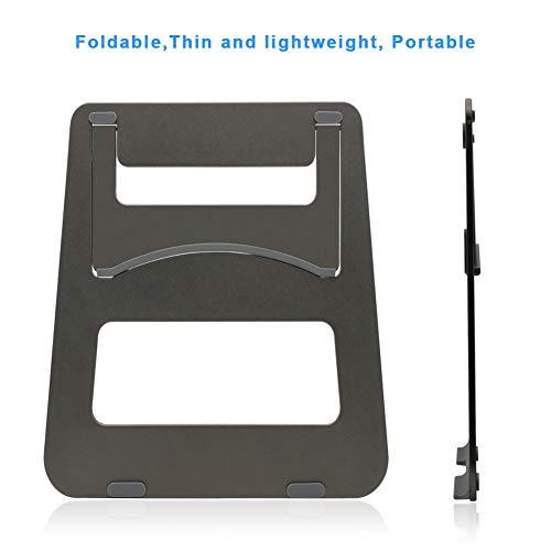 Efanr Aluminum Laptop Stand, Ergonomic Cooling Notebook Stand Desk Dock Holder Bracket Fits Up to 17 inch Laptops & Tablets by Efanr (Image #3)