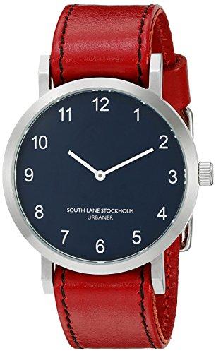 South Lane Unisex 5103 Urbaner Analog Display Japanese Quartz Red Watch
