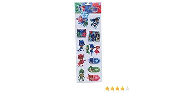 CYP- Stickers Gigantes Removibles PJ Masks, Multicolor (ST-20-PJ)