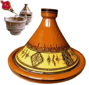 UPC 879433000655, Tagine Cooking Mourish Medium 25cm By Zamouri Spices