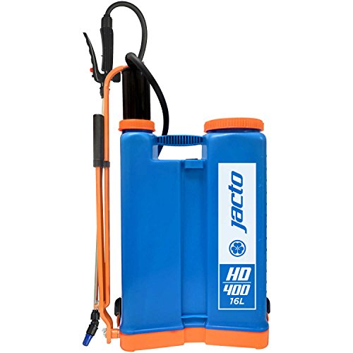 Gallon Piston Poly 4 Pump (Jacto HD400Blue Backpack Sprayer, Blue)