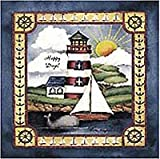 Lighthouse - Peel & Stick - 24 Nautical Wall/Bath Stickers / Decals