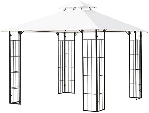 Outsunny 10' x 10' Outdoor Patio Gazebo Canopy