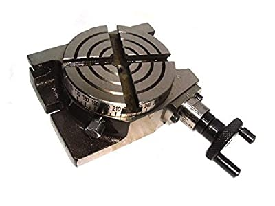 Mini Rotary Table 4 Inch - 100mm Horizontal & Vertical Model - Milling Machine