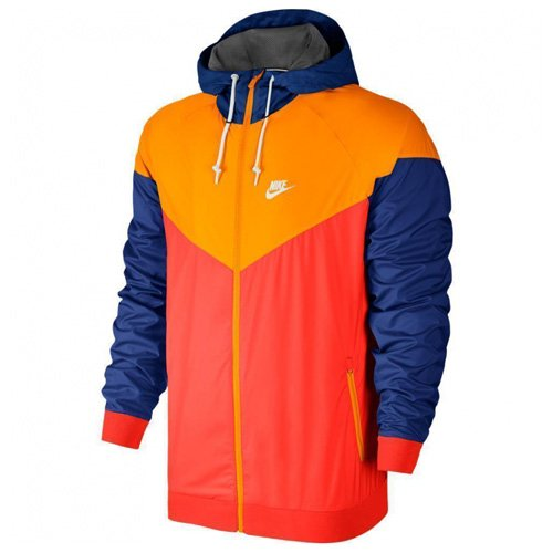 Orange Windrunner Nike Homme Veste lt Rojo Pour Xs Crimsonvivid F6wAq