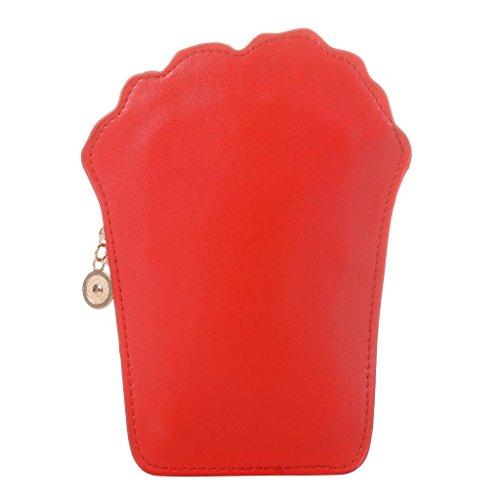 Body Food Handbag Cartoon Women's Purse PU Handbag Chips Shape Cross Casual EfA0qOPxwq