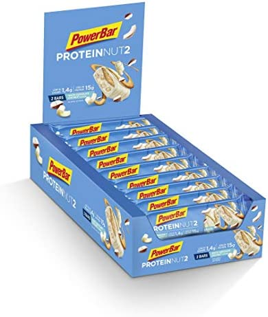 Powerbar - ProteinNut2 18 x 45g Riegel White Chocolate Coconut (2er Pack)