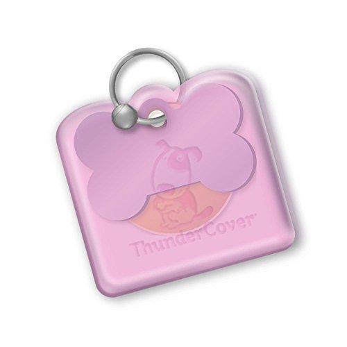 ThunderCover Dog Tag Silencer - Pink