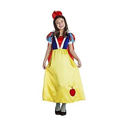 Disfraz de Blancanieves con Manzana para niña y bebé: Amazon ...