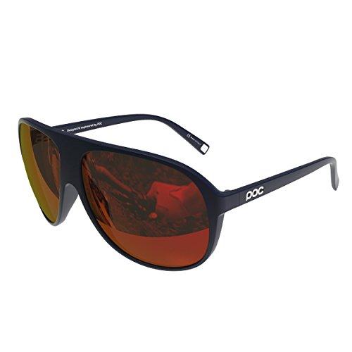 POC DID Sunglasses, Navy Black/Californium Blue, One - Did Sunglasses
