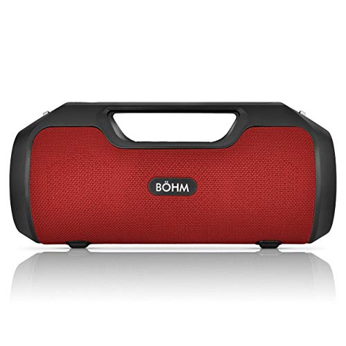 BÖHM Impact Plus Wireless Bluetooth Speaker Water Resistant IPX4 40W Premium HD Sound Powerbank...