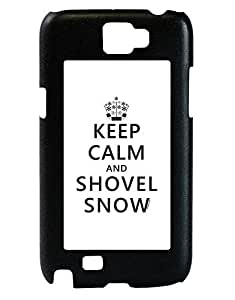 TooLoud Keep Calm and Shovel Snow Galaxy Note 2 Case