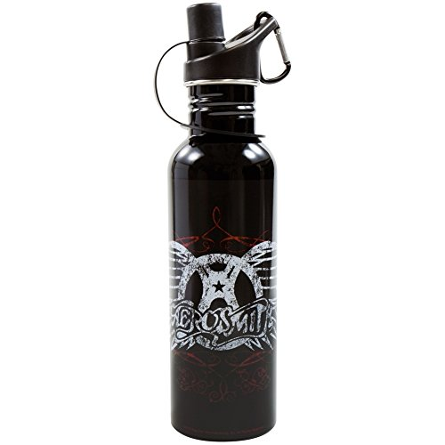 Aerosmith - Wing Logo Water Bottle (Aerosmith Wings)